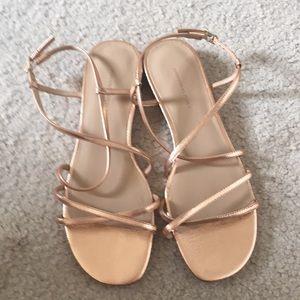 Strappy Sandals - Never Worn!
